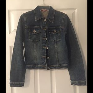 Forever 21 denim jacket size Small